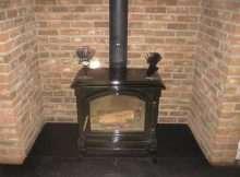 log wood burner