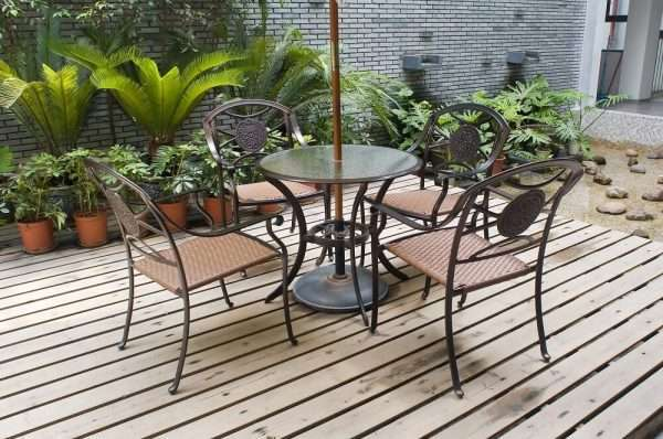 patio glass table top