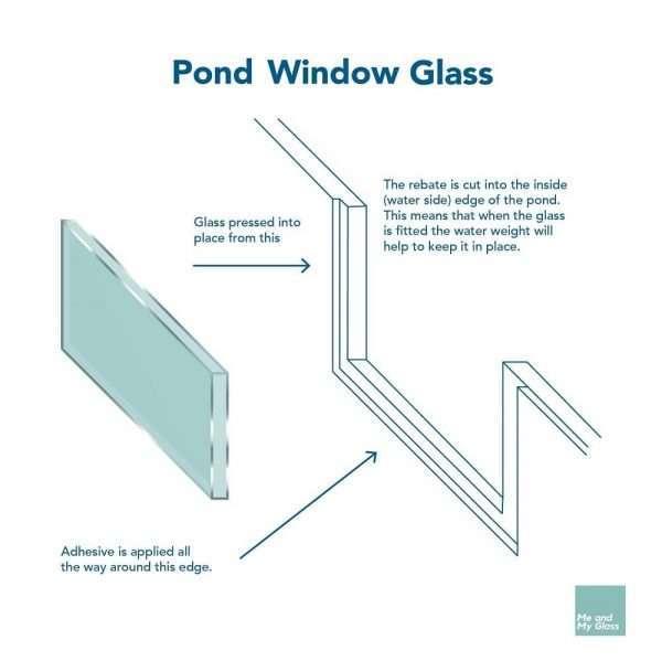 pond window glass